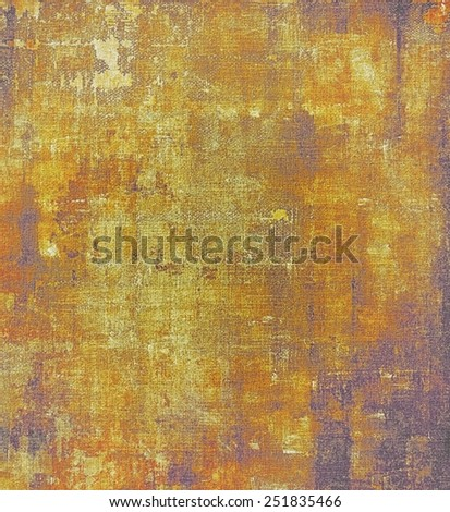 Old ancient texture, may be used as abstract grunge background. With different color patterns: yellow (beige); brown; red (orange); purple (violet) - stock photo