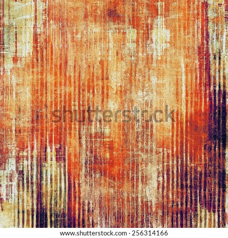 Old ancient texture, may be used as abstract grunge background. With different color patterns: yellow (beige); brown; purple (violet); red (orange) - stock photo