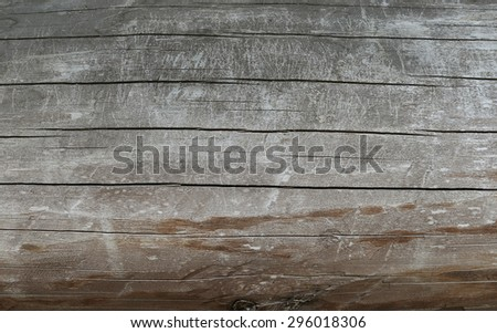 Old and dry wood background - stock photo