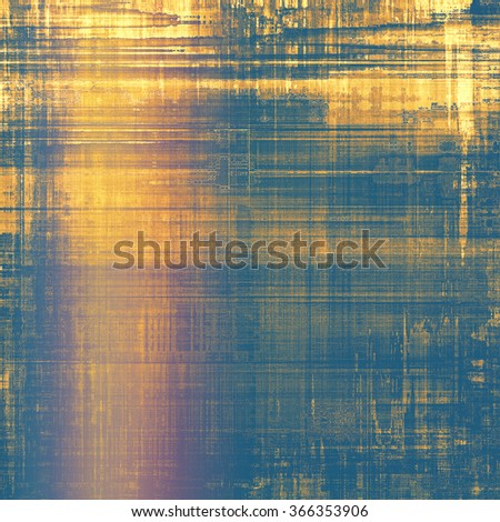 Old and weathered grunge texture. With different color patterns: yellow (beige); brown; blue; pink - stock photo