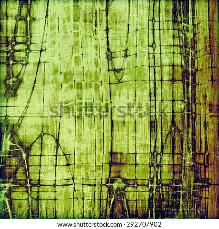 Old and weathered grunge texture. With different color patterns: yellow (beige); brown; green; purple (violet) - stock photo