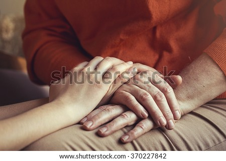 Old and Young - stock photo