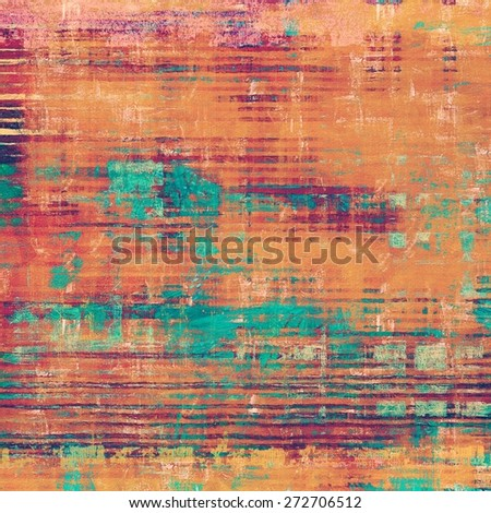 Old antique texture - perfect background with space for your text or image. With different color patterns: yellow (beige); brown; purple (violet); blue - stock photo