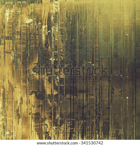 Old antique texture - perfect background with space for your text or image. With different color patterns: yellow (beige); brown; gray; green - stock photo