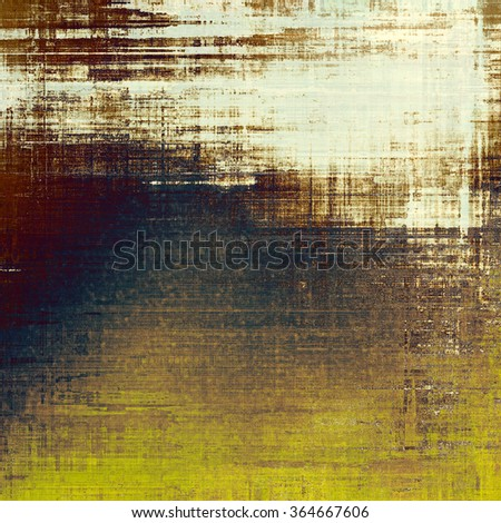 Old antique texture - perfect background with space for your text or image. With different color patterns: yellow (beige); brown; blue; white; gray - stock photo