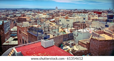 old arabic city Essaouira (Morocco) photo