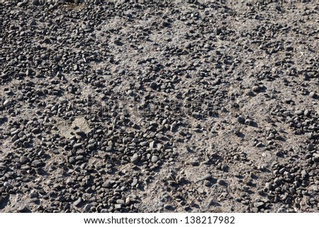 old asphalt as background - stock photo