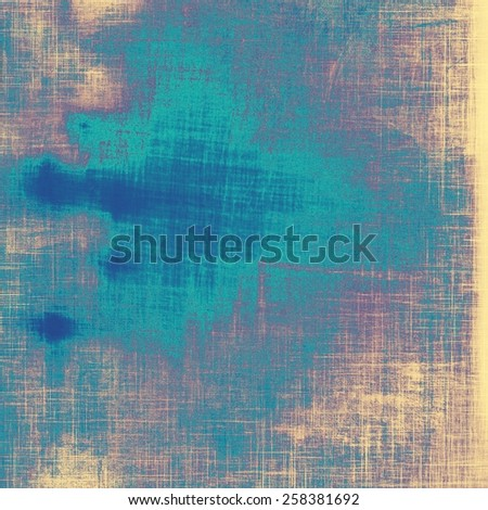 Old background or texture. With different color patterns: yellow (beige); purple (violet); cyan; blue - stock photo