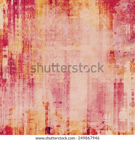 Old background or texture. With different color patterns: yellow (beige); purple (violet); red (orange); pink - stock photo