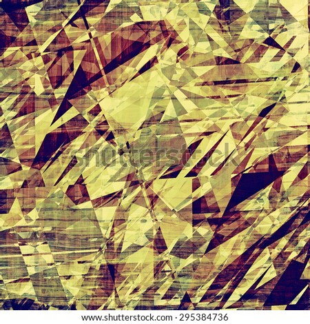 Old background with delicate abstract texture. With different color patterns: yellow (beige); brown; blue; purple (violet) - stock photo