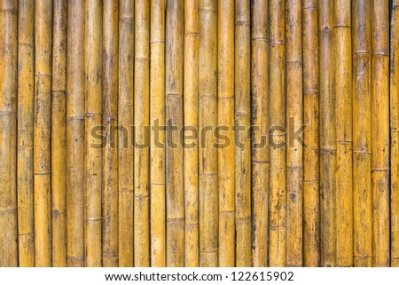 Old bamboo texture - stock photo