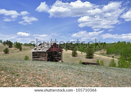 Old Barn near Cripple Creek, Colorado