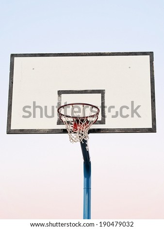 Old Basketball Goal (Outdoor)