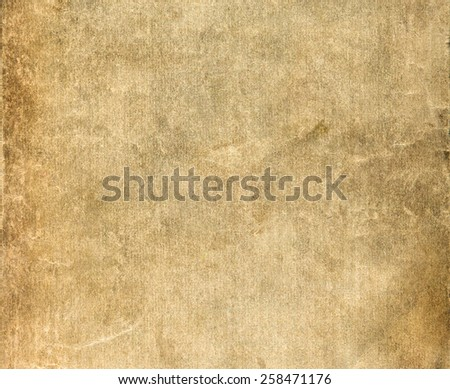 Old beige paper texture - background with space for text  - stock photo
