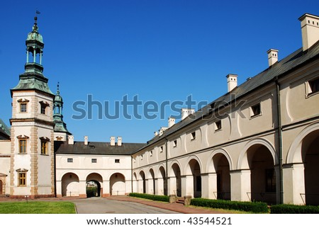 Old Bishop `s Palace in Kielce. Poland