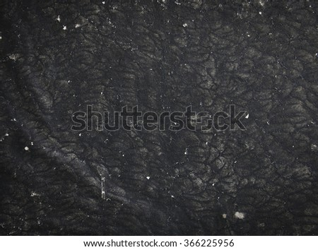 old black paper cover with grungy surface - stock photo