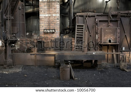 old blakcsmiths shop, tasmanian rail workshops