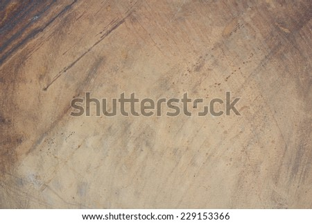 Old blanched wooden desk texture background - stock photo