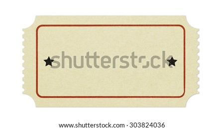Blank Ticket Images RoyaltyFree Images Vectors – Blank Ticket