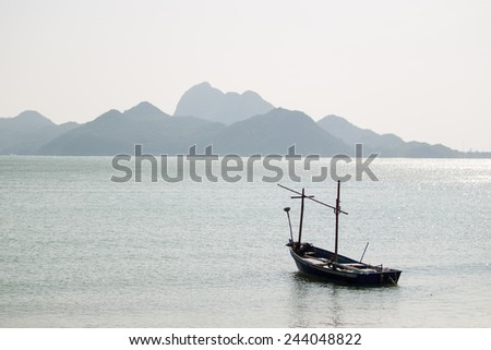 Old boat - stock photo