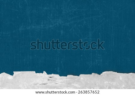 Old Book Cover. Dark Blue Paper Texture. Background - stock photo
