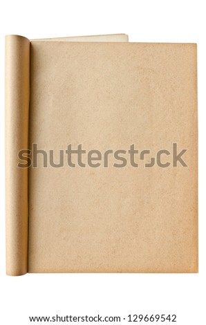 Old book for background - stock photo