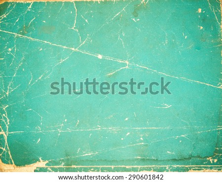 Old book paper cover photo - stock photo