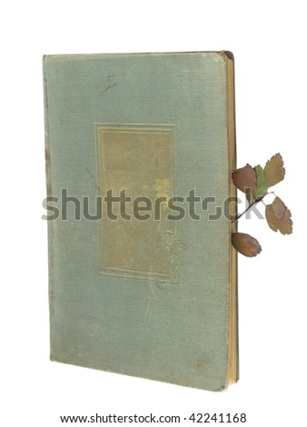 old book vintage background - stock photo