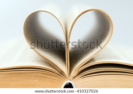 old book with heart / Heart