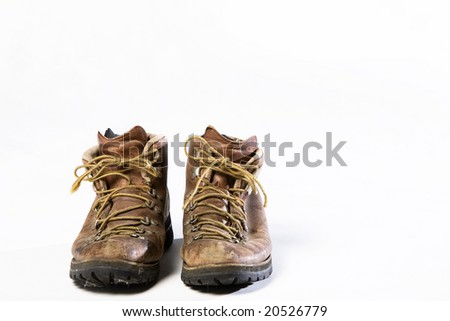 Old Boots - stock photo