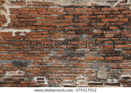Old Brick Texture , Temple , Building