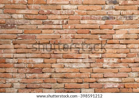Old Brick wall,background
