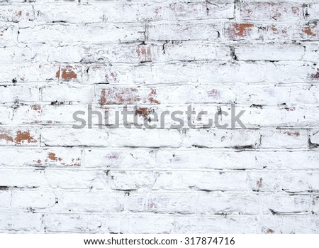 old brick wall great as background - stock photo