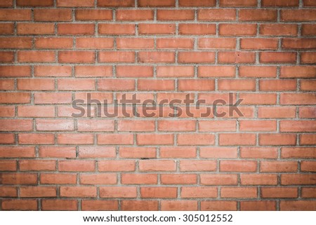 Old brick wall texture background.  - stock photo