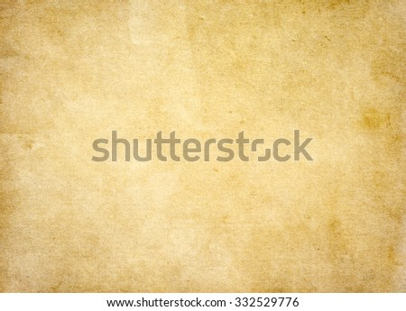 Old brown paper background. Vintage texture background - stock photo
