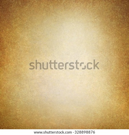 old brown paper background with gold hue and vintage texture - stock photo