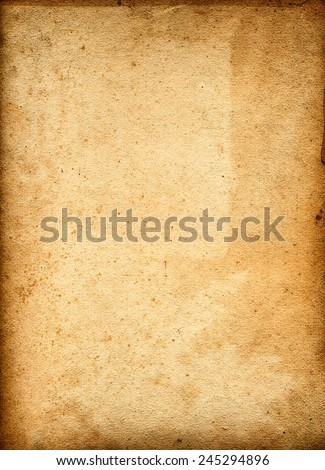 old brown paper background with space for text or image