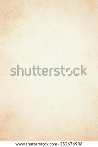 old brown paper background with vintage texture layout, off white or cream background color - stock photo