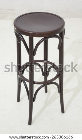Old brown stool