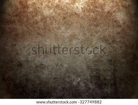 Old brown texture background. Horror background - stock photo