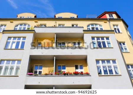 old building - stock photo