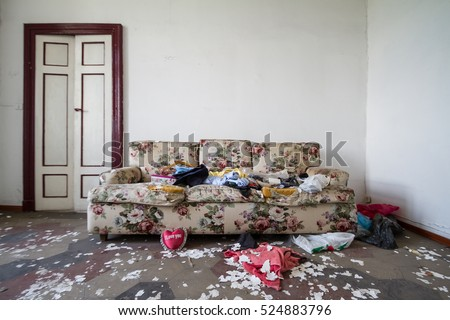 Untidy house pictures