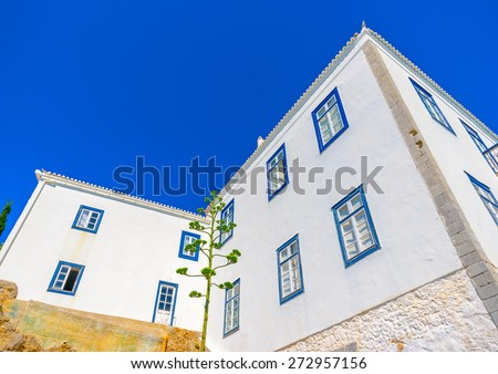 old building in Spetses island in Greece - stock photo