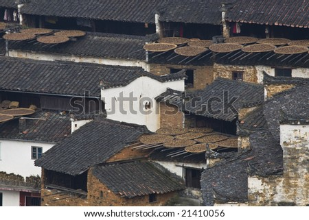 old building in the middle of china