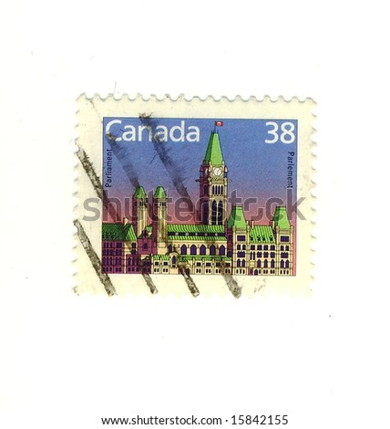old canada stamp