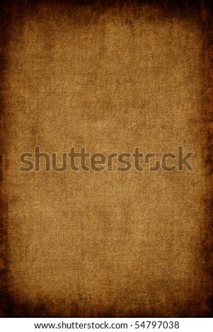 Old canvas texture - stock photo