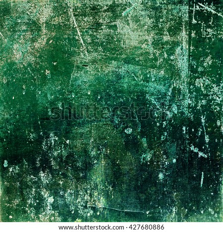 Old canvas texture grunge background. Grunge background. Perfect texture of paper, beautiful colors and designs. Green color design