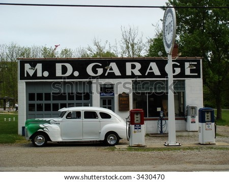 Old Car Garage