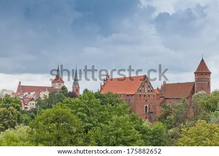 old castle in Olsztyn