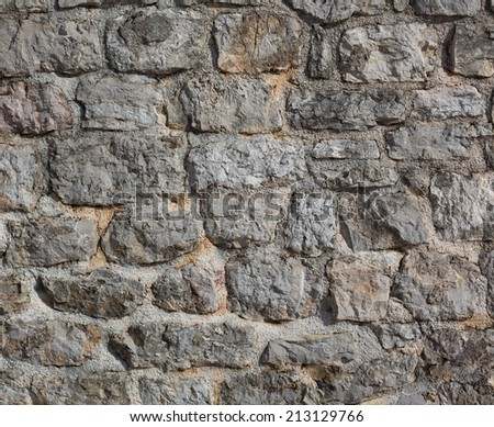 Old castle stone wall background